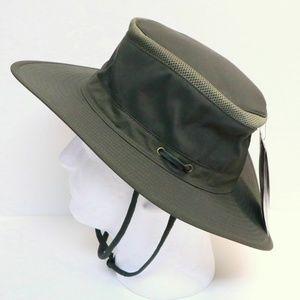HENSCHEL 10 POINT VENTED HAT W/ CHIN STRAP BOONEY